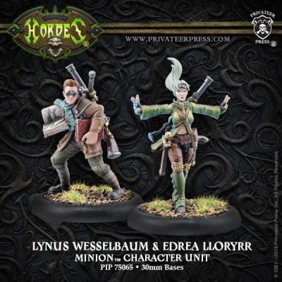 Minion Lynus Wesselbaum & Edrea Lloryrr Character Unit