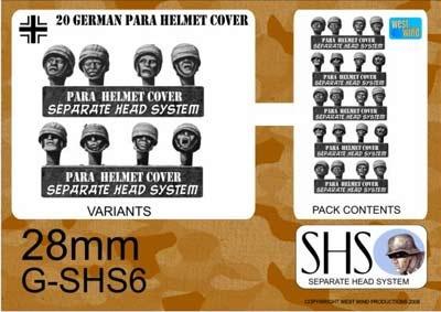 GERMAN PARAS STEEL HELMETS CANVAS COVER