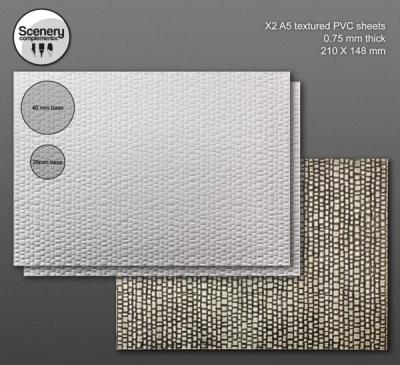 Textured Sheet: Kopfsteinpflaster (2)
