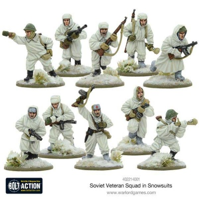Soviet Veteran Squad in Snowsuits (10)