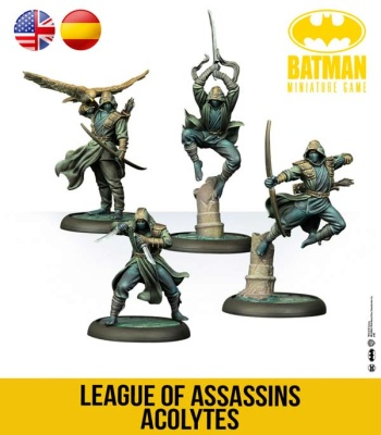 Batman Miniature Game: League Of Assassins Acolytes