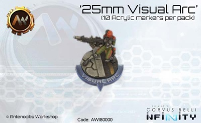25mm Visual Arc Markers (10)