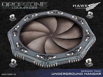Underground Hangar Scenery Pack