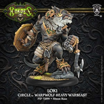 Circle Heavy Character Warbeast Loki (Resin)