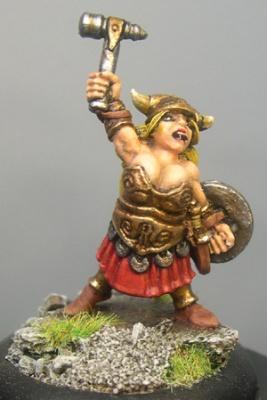 Heidi, female Dwarf