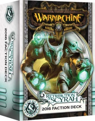 WARMACHINE Retribution 2016 Faction Deck