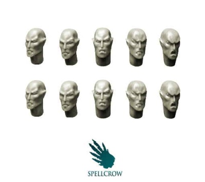 Space Elves Heads (10)