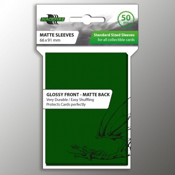 Standard Sleeves - Green 66mm-91mm (50)