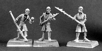 Skeletal Harpooners (9)