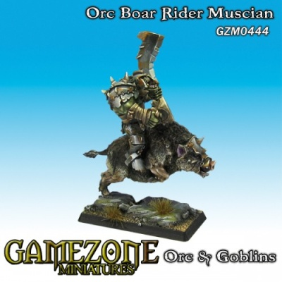 Orc Musician on War Boar (1)