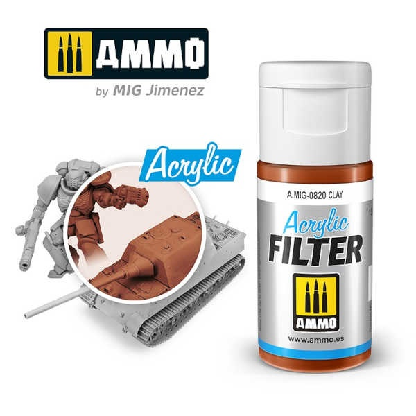 ACRYLIC FILTER Clay (15ml)