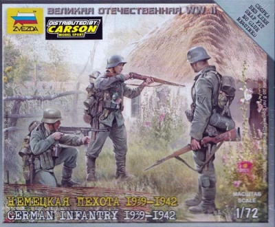 1:72 German Infantry 39-42