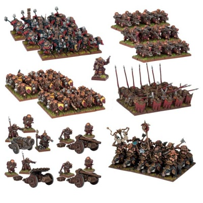 Dwarf Mega Army (144)