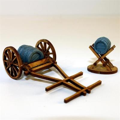 Water Cart, Jack & Barrels