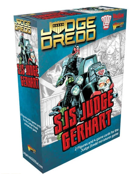 Judge Dredd: SJS Judge Gerhart