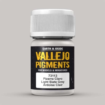 Vallejo Pigment Light Slade Grey 30ml