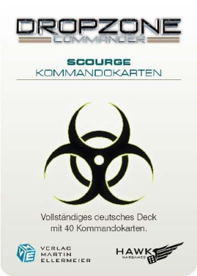 The Scourge Kommandokarten (40)