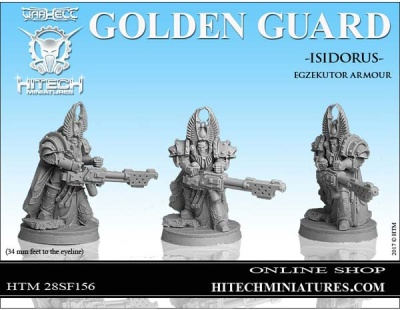 28mm  Golden Guard Isidorus