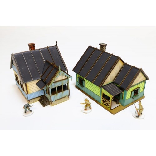 Russian Village - House Set
