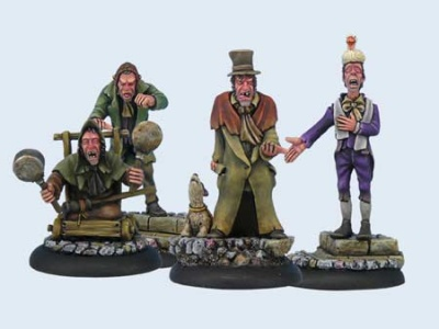 Discworld Miniature The Canting Crew (5)