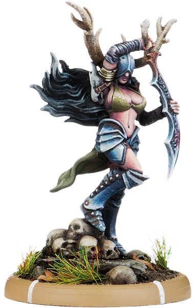 Falchion-Annik of Carn Wrach, Battle-Drune on Foot