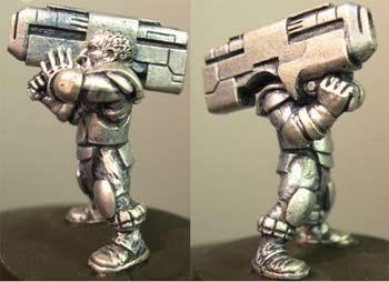 Gustav, male with railgun/Gauss gun