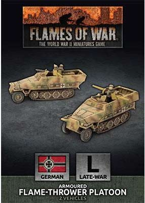 Sd Kfz 251 Flamethrower Platoon (2)