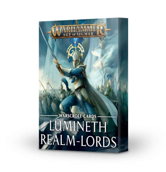 Warscroll Cards: Lumineth Realm Lords ENGLISCH
