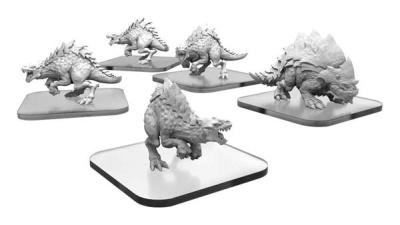 Raptix & Brontox Terrasaur Units
