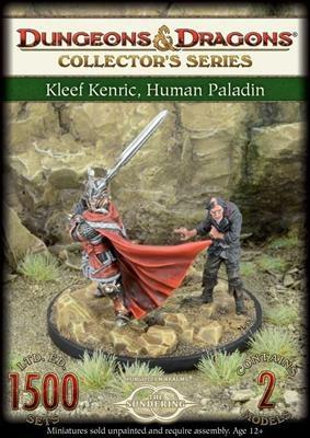 D&D: Kleef Kenric, Human Paladin and Malik (2)
