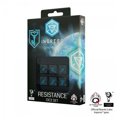 Ingress 6D6 Dice Set: Resistance (6)