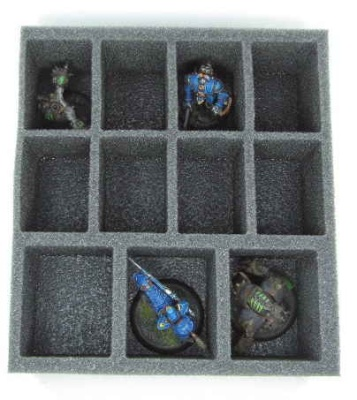 Warma/Hordes Medium Troop Half Foam Tray 2