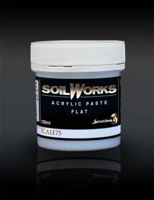 Acrylic Paste Flat 100ml