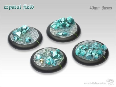 Crystal Field Bases 40mm rund (2)