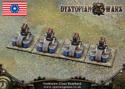 Federated States of America Yorktown Class Bombard (OOP)