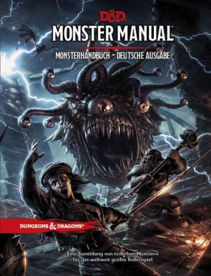 D&D Monster Manual - Monsterhandbuch