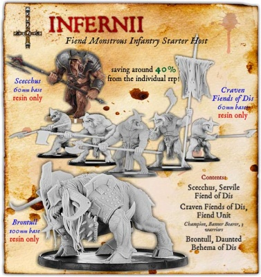 Infernii Fiend Monstrous Infantry Starter Host