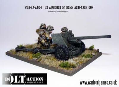 Bolt Action US AB Anti Tank Gun
