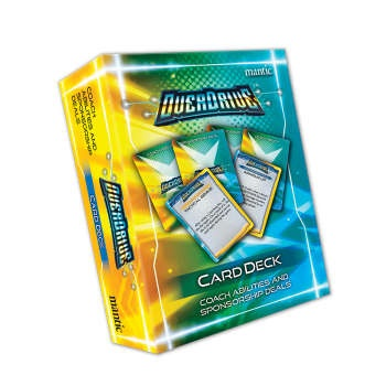 OverDrive Coach Abilities and Sponsorship Cards - EN