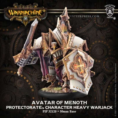 Protectorate Character Heavy Warjack Avatar of Menoth