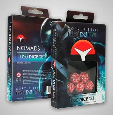 Nomads D20 Dice Set (5)