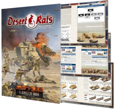 Desert Rats Army Book (Mid-war)