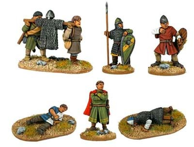 Norman Characters & Casualties(7 figs)