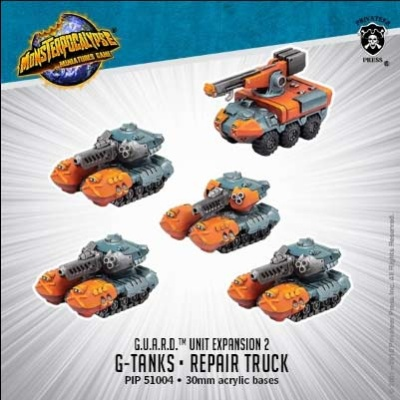 G-Tanks & Repair Truck: G.U.A.R.D. Unit (resin)