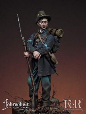 Corporal, 19th Indiana Volunteer IR Iron Brigade 75mm