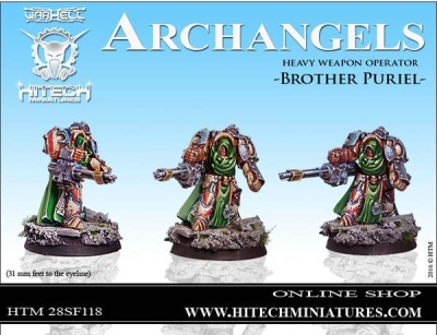 28mm Archangels Brother Puriel