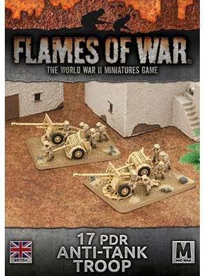 Desert Rats 17/25pdr Anti-Tank Troop (Plastic x 2)