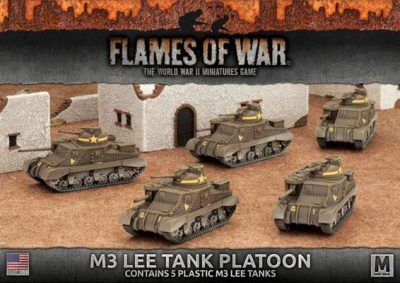 M3 Lee Tank Platoon (plastIc) (5)