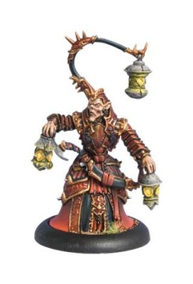 Skorne Warlock Void Seer Mordikaar