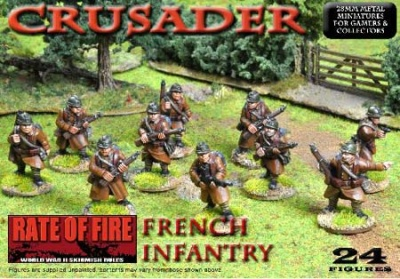 Crusader WWII: French Infantry Box Set